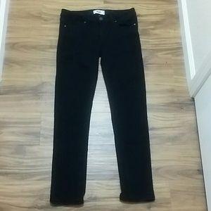 Black Paige skyline skinny jeans size 27
